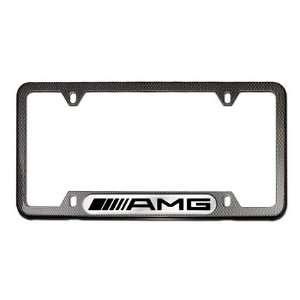 Mercedes Benz AMG Logo Frame, Carbon Fiber Coat