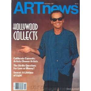 Art News Magazine   Jack Nicholson on Cover   Hollywood