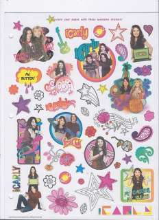 ICARLY Scrapbook Kit Photo Album w/stickers Pink NWT