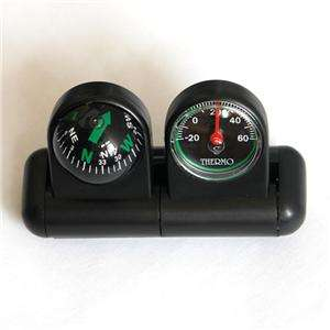 New Vehicle Auto Car Navigation Compass Thermometer CP2