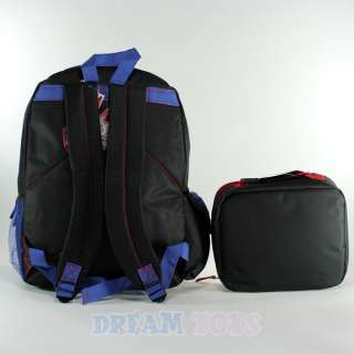 Transformers Large 16 Backpack and Lunch Box Set   Bag School |