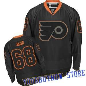 Flyers Black Ice Jersey Hockey Jersey (Logos, Name, Number are sewn