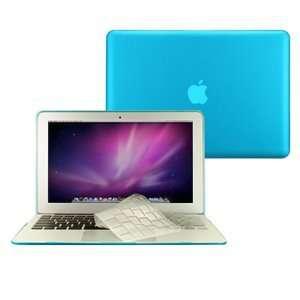TopCase® 2 in 1 Rubberized AQUA BLUE Hard Case Cover And