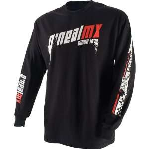 neal 09 Demolition Black Red MX Riding Jersey (SizeM)