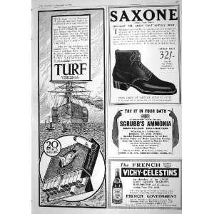 Cigarettes Saxone Shoe Scrubbs Ammonia Mineral