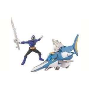 Power Rangers Samurai Zord Vehicle Set   Blue Toys