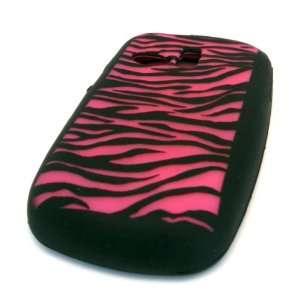 Samsung R355c Black Pink Zebra Stripes Design Straight Talk Net 10