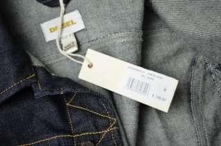 Mens Diesel Brand NEW JYMPOS Dark Denim Jean Jacket Mens Size M Coat