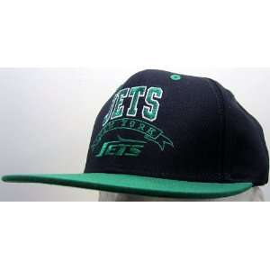 New York Jets Vintage Retro Snapback Cap: Sports