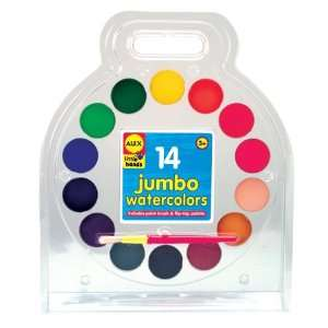 Alex Toys Jumbo Watercolors (12) ALX38W Toys & Games