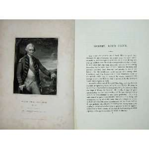 Robert First Lord Clyde Memoirs Portrait 1836 Print