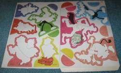 Walt Disney Prod. MICKEY MOUSE Rubn Play Magic Transferset COLORFORMS