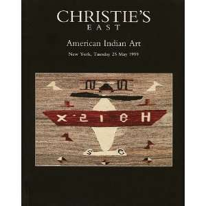 AMERICAN INDIAN ART CHRISTIES EAST, NEW YORK, MAY 25