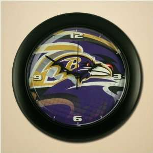 Baltimore Ravens High Definition Wall Clock