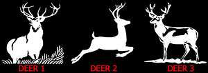 Buck Deer / Hunter Hunting   Vinyl Decal Sticker ~}