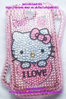 Hello Kitty Bling Diamond Case For Samsung Epic 4G Galaxy S #8
