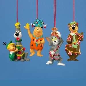 Set of 4 Hanna Barbera Yogi/Flintstones/Tom & Jerry