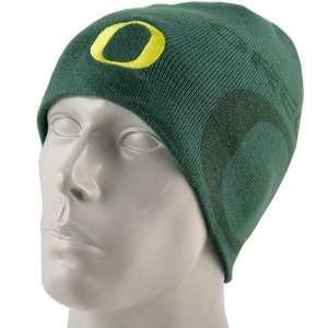 Nike Oregon Ducks Green In The Paint Knit Beanie Cap