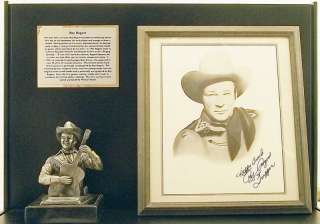 Signed Shadow Box by Michael Ricker   Print By Sonny Simpson