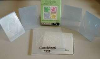Green Cuttlebug Die Cutting Machine w/ Plate and Cutting Pads