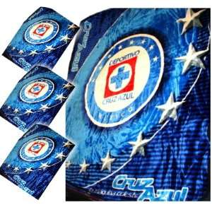 CRUZ AZUL MEXICO OFFICIAL FULL SIZE COLLECTIBLE BLANKET