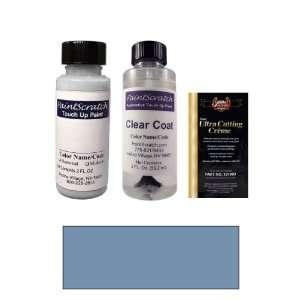 2 Oz. Pastel Cadet Blue Metallic Paint Bottle Kit for 1983