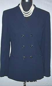 DILLARDS PRESTON & YORK NAVY BLUE DRESS SUIT JACKET~6