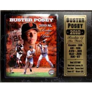 San Francisco Giants Buster Posey Stat Plaque Case Pack