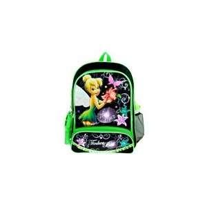 Disney Fairies Tinker Bell Large Backpack Green Garden