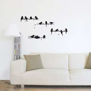 Sound of Birds Wall Sticker Removable Graphic Decal