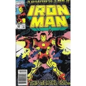 Iron Man, Vol. 1, No. 265, Feb 1991 John Byrne Books