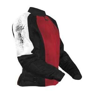 Strength Womens True Romance Mesh Jacket   X Small/Red Automotive