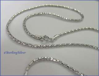925 Sterling Silver Designer Chain /Necklace  18 Inches, 2.5 grams, 1