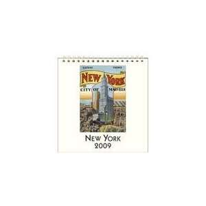 New York 2009 Easel Desk Calendar Books