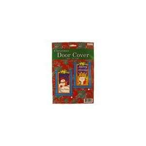 of 144 Snowman and Santa Claus Christmas Door Cover De: Home & Kitchen
