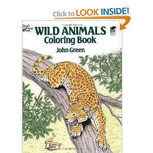 Wild Animals Coloring Book (Dover Nature Coloring Book