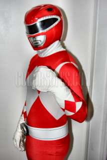 Mighty Morphin Power Rangers   Red Ranger Suit Costume