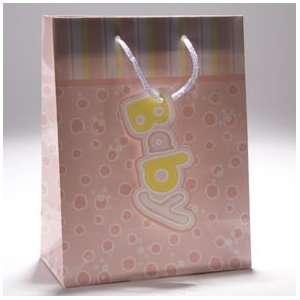 Medium Pink Dots Gift Bag Toys & Games