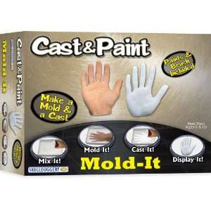 Cast and Paint Mold It Kit with Paints Toys & Games
