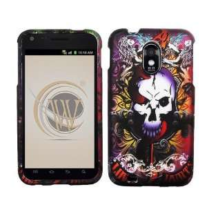 VMG 3 ITEM COMBO Lion Tattoo Skulls Design Hard 2 Pc Plastic Case