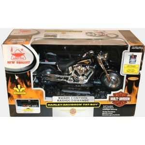 16 R/C Full Function Harley Fat Boy Toys & Games