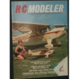 Radio Control Modeler Magazine (December, 1966): Staff