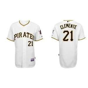 Wholesale Pittsburgh Pirates #21 Roberto Clemente White