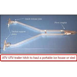 Ice Fishing Portable Fish House Tie Down Anchor Sports