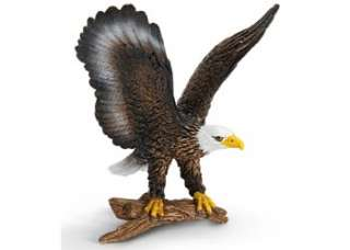 Bald Eagle Schleich toy figure NEW Wild Life Animal * America *