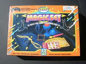 Easy Magic Set by Eddys Magic and Company box set New