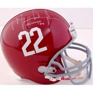 Mark Ingram Autographed Replica Helmet   Heisman 09