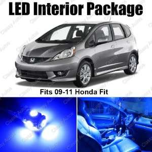 Honda FIT JAZZ Blue Interior LED Package (4 Pieces