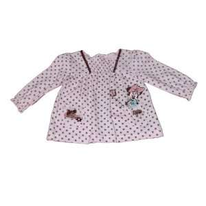 Disney Minnie Mouse Infant Girls Top Size 0/3 Mos Genuine Licensed