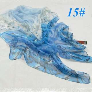 PROMOTION 100% SILK high quality HOT SELLING floral light soft long